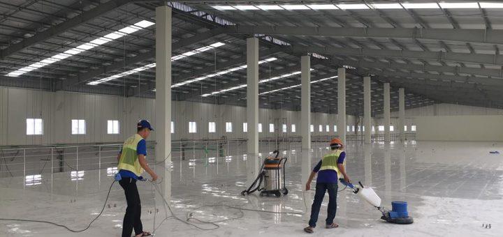 Dịch vụ vệ sinh nhà xưởng An Khang
