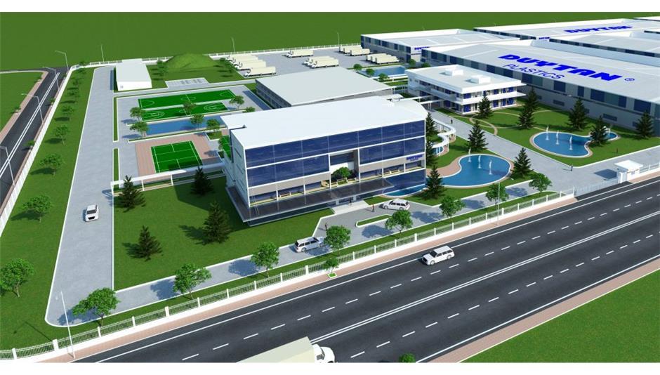 Bản vẽ thiết kế cho nhà máy nhựa Duy Tân Long An