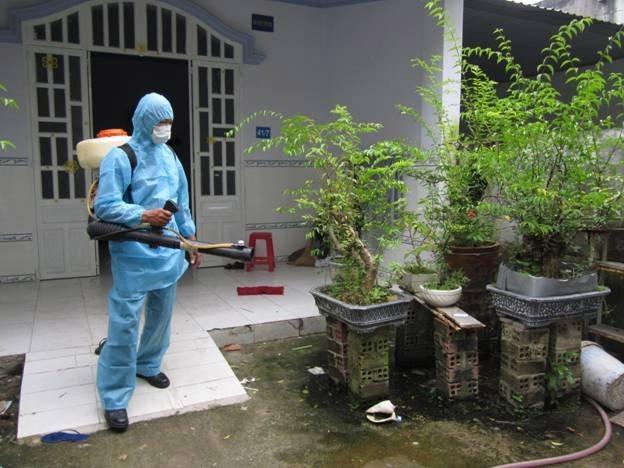 Dịch vụ diệt muỗi tại nhà ở Bình Dương